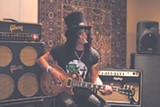 Slash is one of the guitarists interviewed