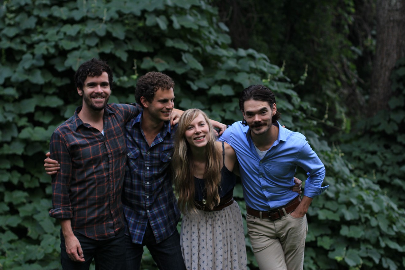 Stopover alums River Whyless play The Sched Party.