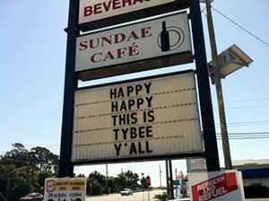 Sundae Cafe on Tybee Island
