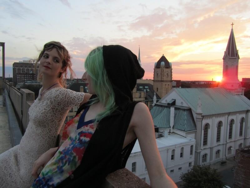 Tara Walters and Lydia Schneider of Faeryteeth