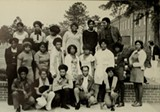 The Black American Movement at Armstrong College in 1973 included a young Otis Johnson.