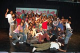 The cast of AWOL's Hip-Hop History Play