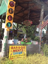 The charming Americana of Gerald's Pig 'n' Shrimp