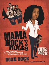 The cover of Rose Rock's 'Mama Rock's Rules'