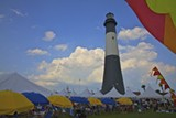 The Grand Wine Tasting, on the grounds of the Tybee Lighthouse, is the centerpiece of the Tybee Wine Festival.