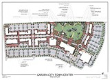 The proposed town plan