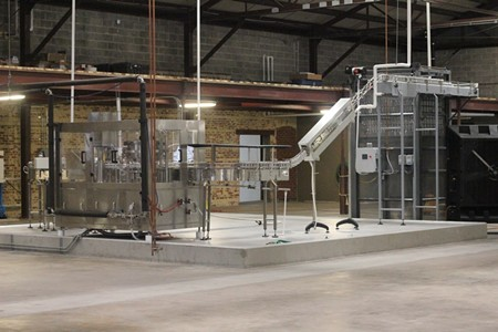 The Service Brewing canning line