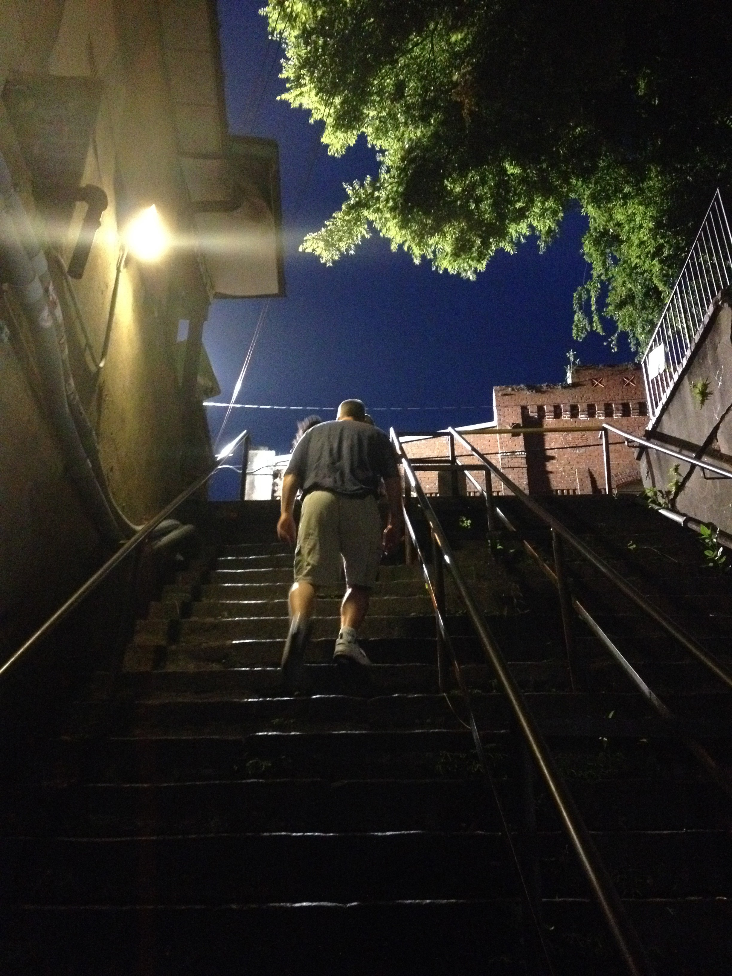 The Stone Stairs of Death