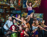 GEOFF L. JOHNSON - The Sweet Tease Burlesque Revue will make its official debut Sept. 20 at the Jinx.