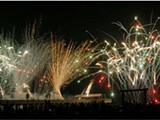Tybee Pier Fireworks