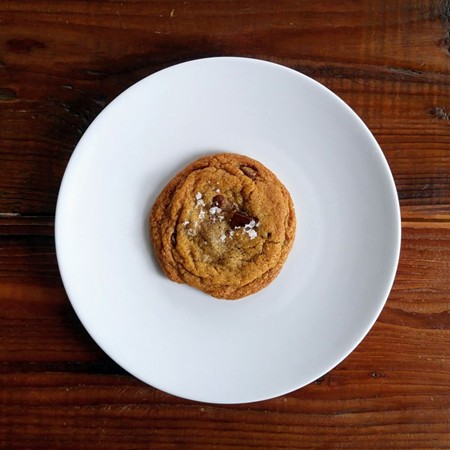 Salted Chocolate Chip cookie by Analog Public House.