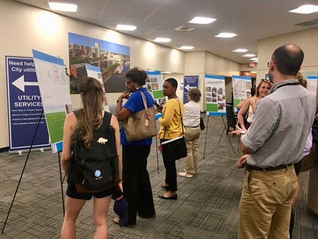 Citizens gathered at the Coastal Georgia Center Sept. 17 for a presentation on the Savannah Development and Renewal Authority's Downtown Savannah 2033 Masterplan.