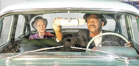 Patricia Miller and Patric Robinson in a scene from Savannah Rep's 'Driving Miss Daisy.' - PHOTO BY MEGAN JONES