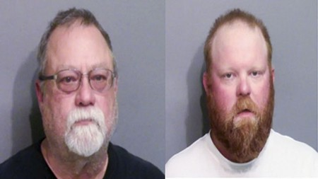 Gregory and Travis McMichael were arrested May 7 for felony murder and aggravated assault.