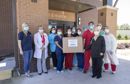 Parker's recently donated more than 7,000 masks to frontline COVID-19 healthcare providers throughout coastal Georgia and South Carolina.