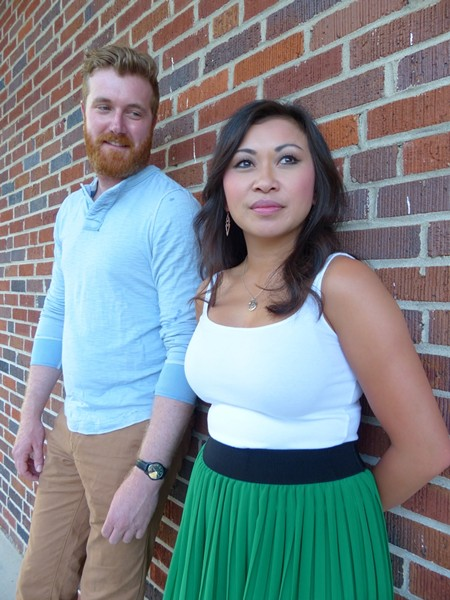 Dan Finn and Cecilia Tran Arango star as Jamie and Cathy.