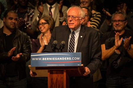 Bernie Sanders - PHOTO BY JON WAITS