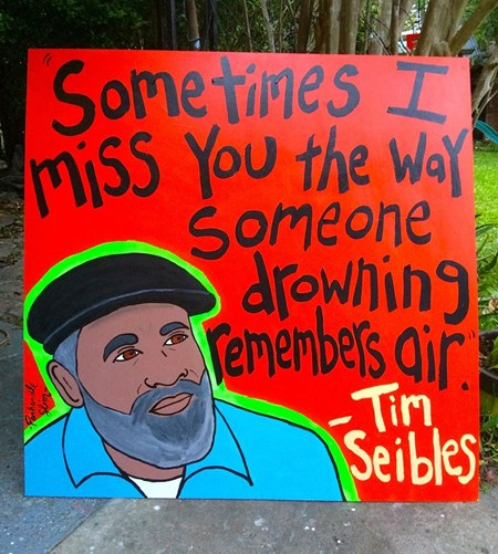 Portrait of Tim Seibles by Panhandle Slim