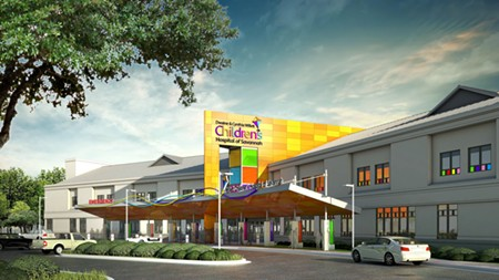 Artist's rendering of the proposed free-standing children's hospital. - IMAGE COURTESY MEMORIAL HEALTH