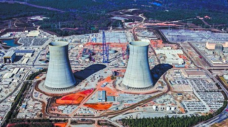 Plant Vogtle is in Burke County. - PHOTO BY HIGH FLYER