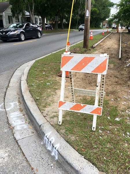 If city officials incorporate citizen input gathered at Savannah Forward meetings this month in the strategic plan, sidewalk construction like this underway on Waters Avenue will be a more common sight in Savannah.