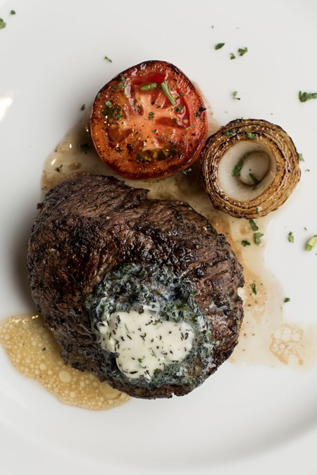 The Prime Center Cut Filet.