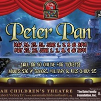 Peter Pan flies again at Savannah Children's Theatre