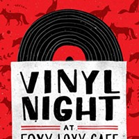 Vinyl Night @Foxy Loxy Cafe