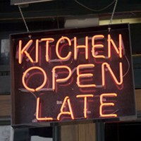 Late night eats & where to find 'em