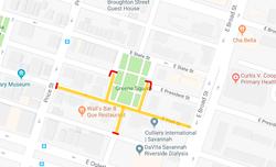 Greene Square closures.