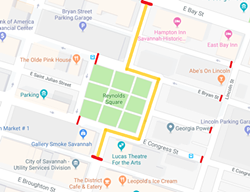 Reynolds Square closures.
