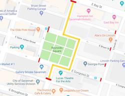 Reynolds Square closures.
