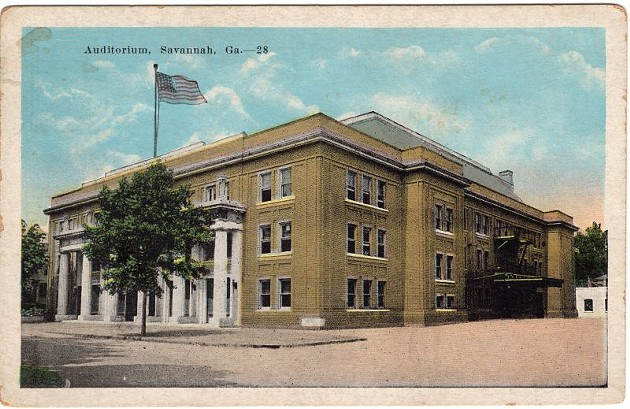 The Municipal Auditorium was built in 1916 and demolished in 1971. Had it remained standing, it could conceivably fill the role slated for the new Cultural Arts Center.