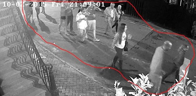 """Downtown resident Maxine Pinson captures images of loud, drunken and obnoxious visitors, although she says for most """"You don't even know they are there."""" - PHOTO COURTESY MAXINE PINSON"""