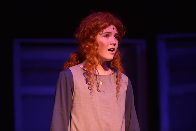 Molly Bass as Annie - SHANNON ZALLER