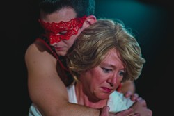 The Senator (Kim Patrick Limehouse) and The Whore (Adam Casey Dunn)
