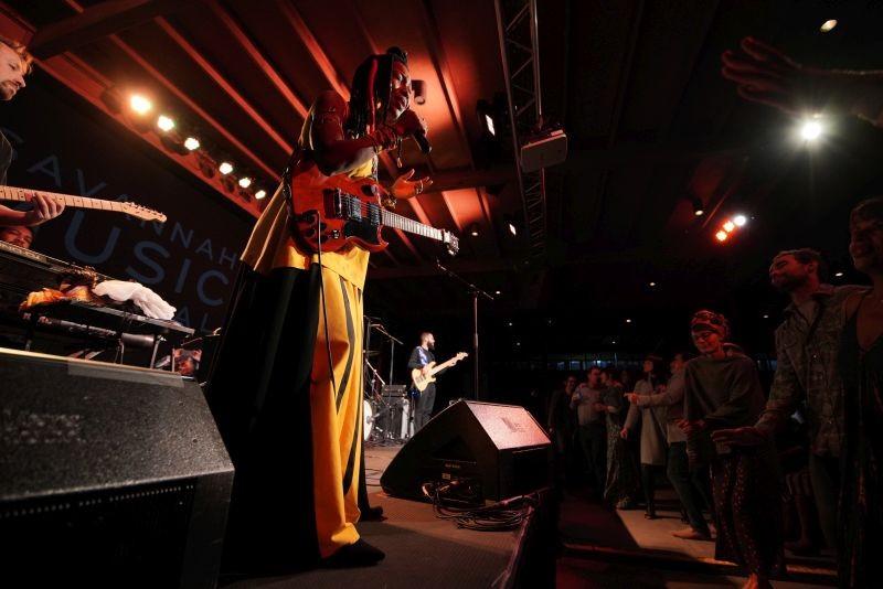 Fatoumata Diawara - PHOTO COURTESY OF SAVANNAH MUSIC FESTIVAL, BY ELIZABETH LEITZELL