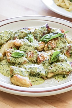 The gnocchi.