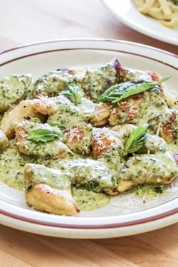 The gnocchi.