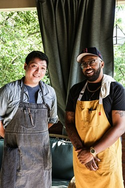 Chef Evan Bruen and Chef Jared Jackson.