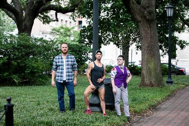 David Withum, Warren Arbury, and Molly Alexander. - MEGAN JONES