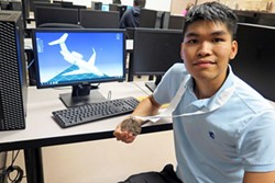 Mechanical Drafting graduate Xuan Huynh won silver  at the 2019 national SkillsUSA competition.