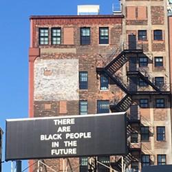 Billboard near Woodward Avenue