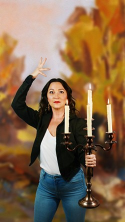 Lexi Balaoing Ambrose as Lumiere. Photo by Angelica Sorauf.