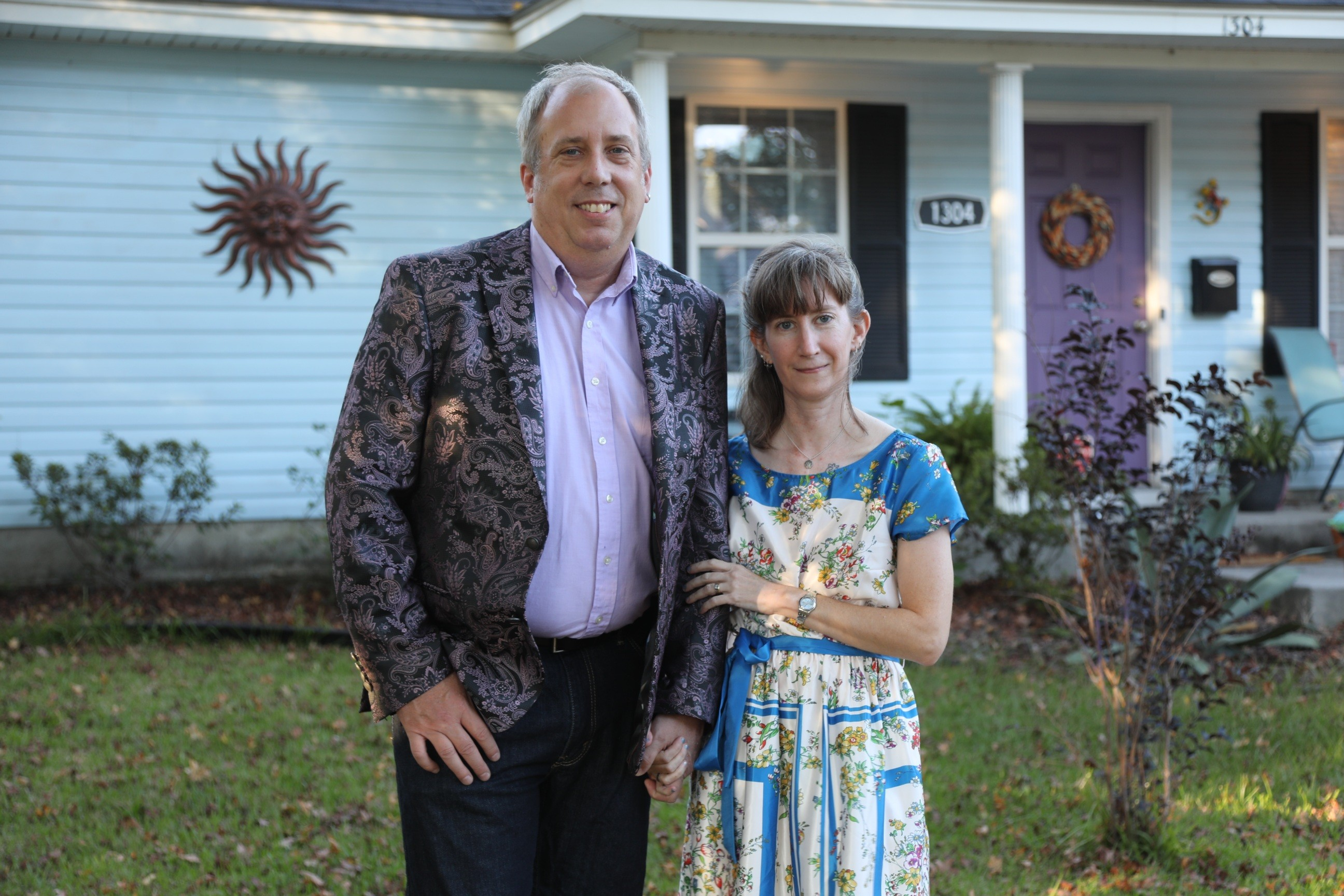 Douglas Morse and Elizabeth Raley. Photo credit Frank Logue.