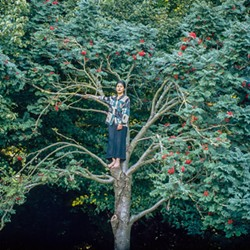 """Ingrid Pumayalla's """"Exercise to Climb a Tree,"""" from her """"Nuna"""" series."""