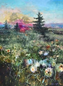 Wyoming Landscape: Soul Roots.
