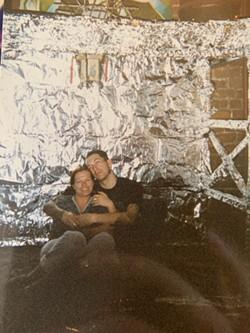 Sarah Wood and Gil Cruz at Velvet. Photo courtesy of Wood.