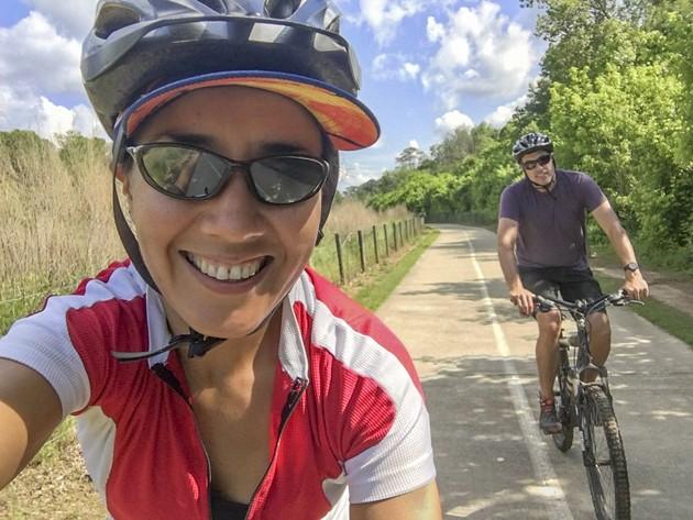 Maria Borowik undertook a tour of Georgia's trails in a single weekend.