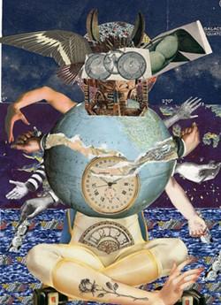 Collage by Caroline Van Sluijs, Axelle Kieffer, and Allan Bealy.